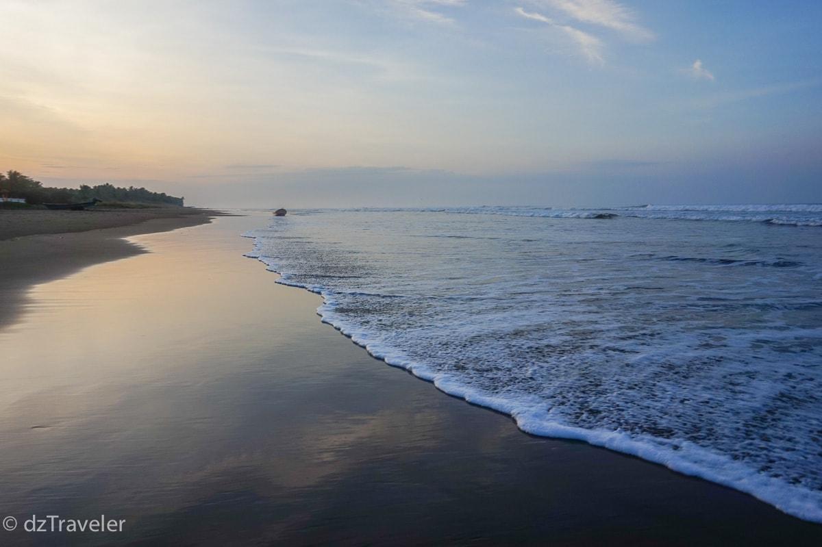 Coco Beach in El Salvador