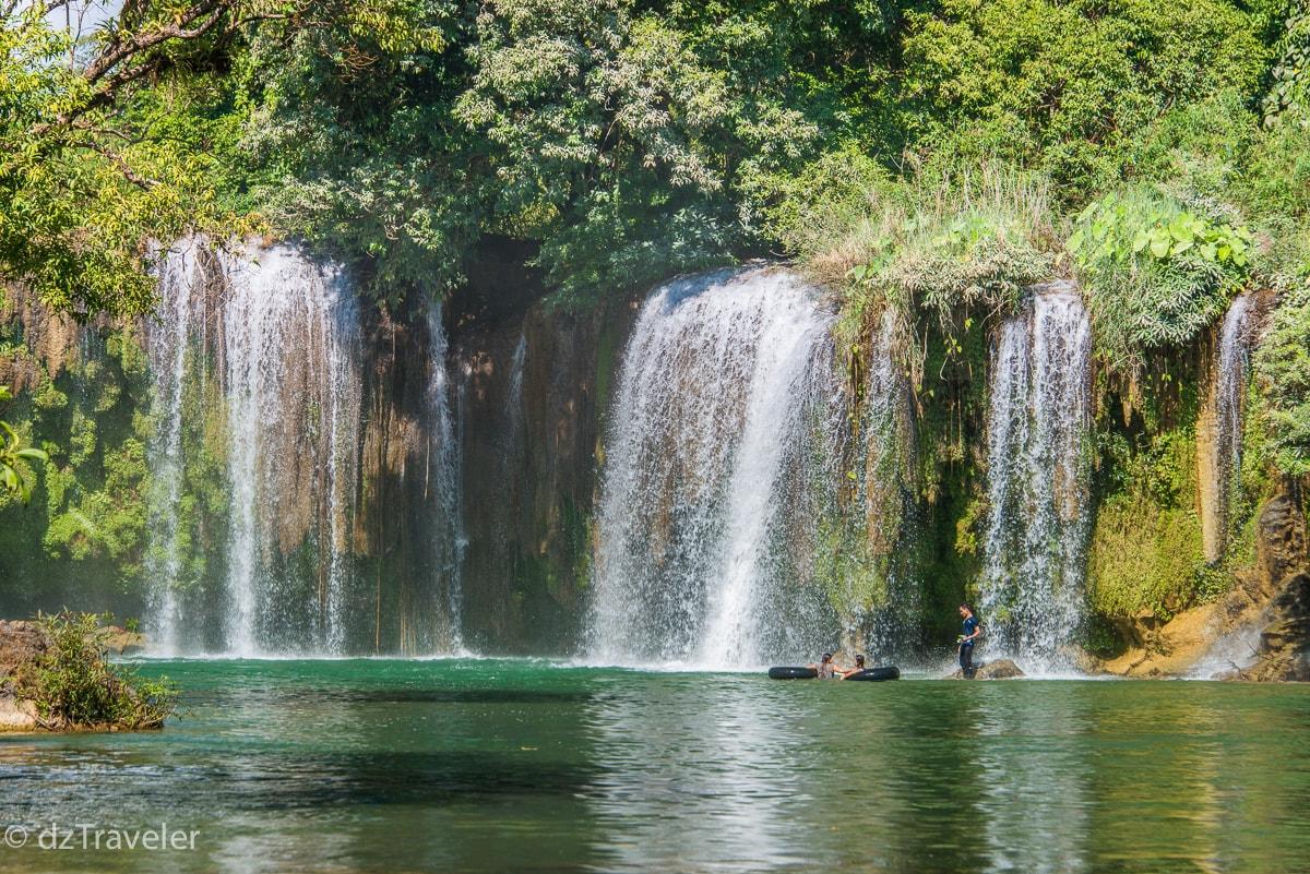 kyone Htaw Waterfall, Kayin State, Myanmar