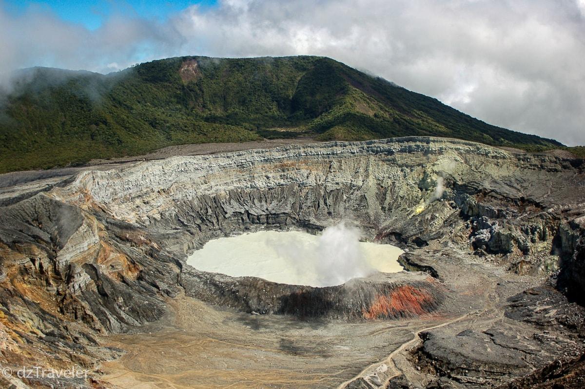 Volcano Poas, Costa Rica