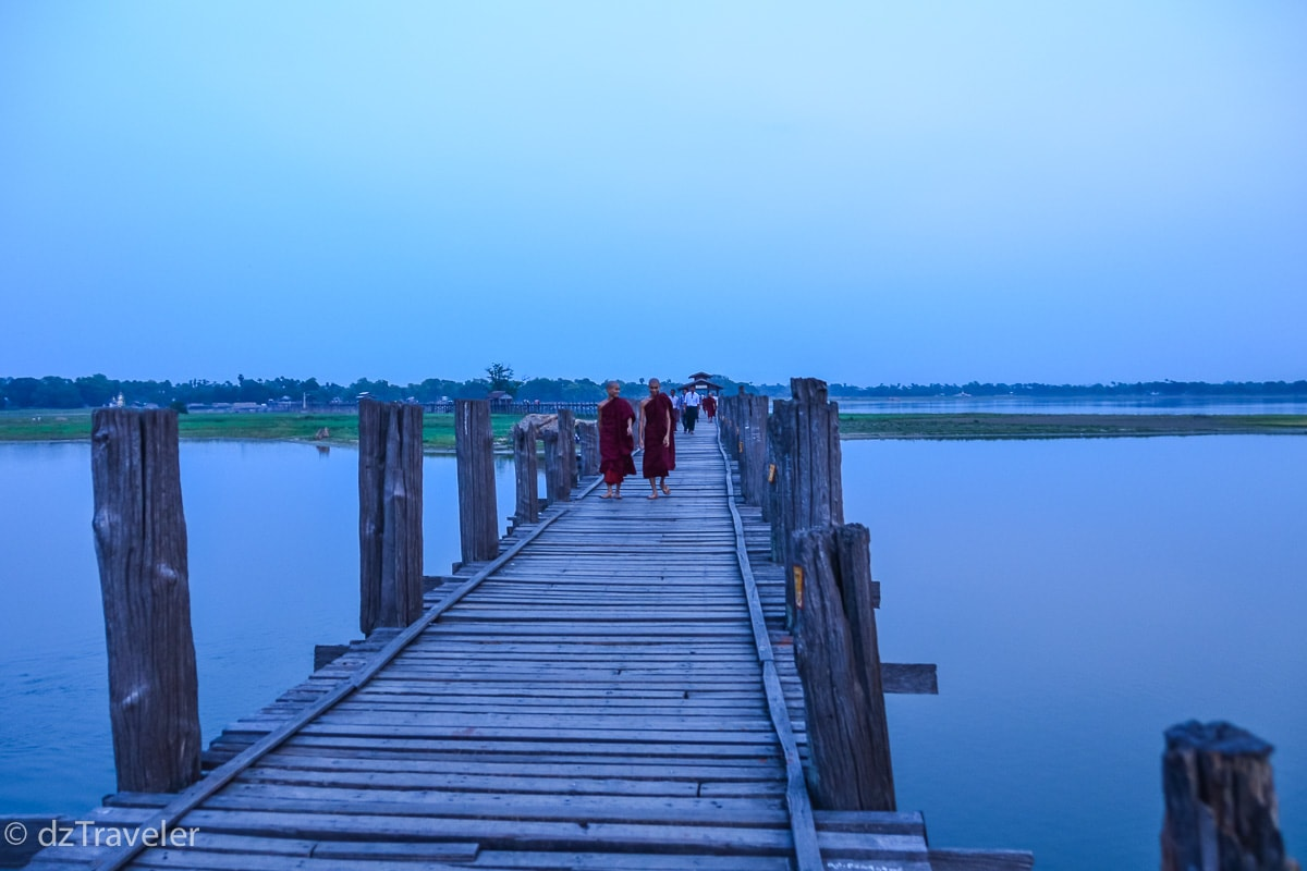 U-Bein's Bridge, Myanmar