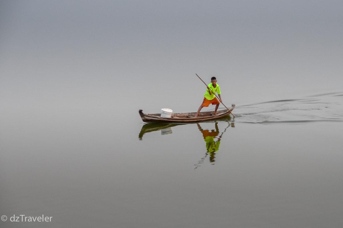 Taung Tha Man Lake, Myanmar