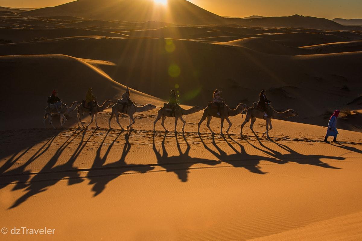 Erg-Chebbi Dunes, Morocco