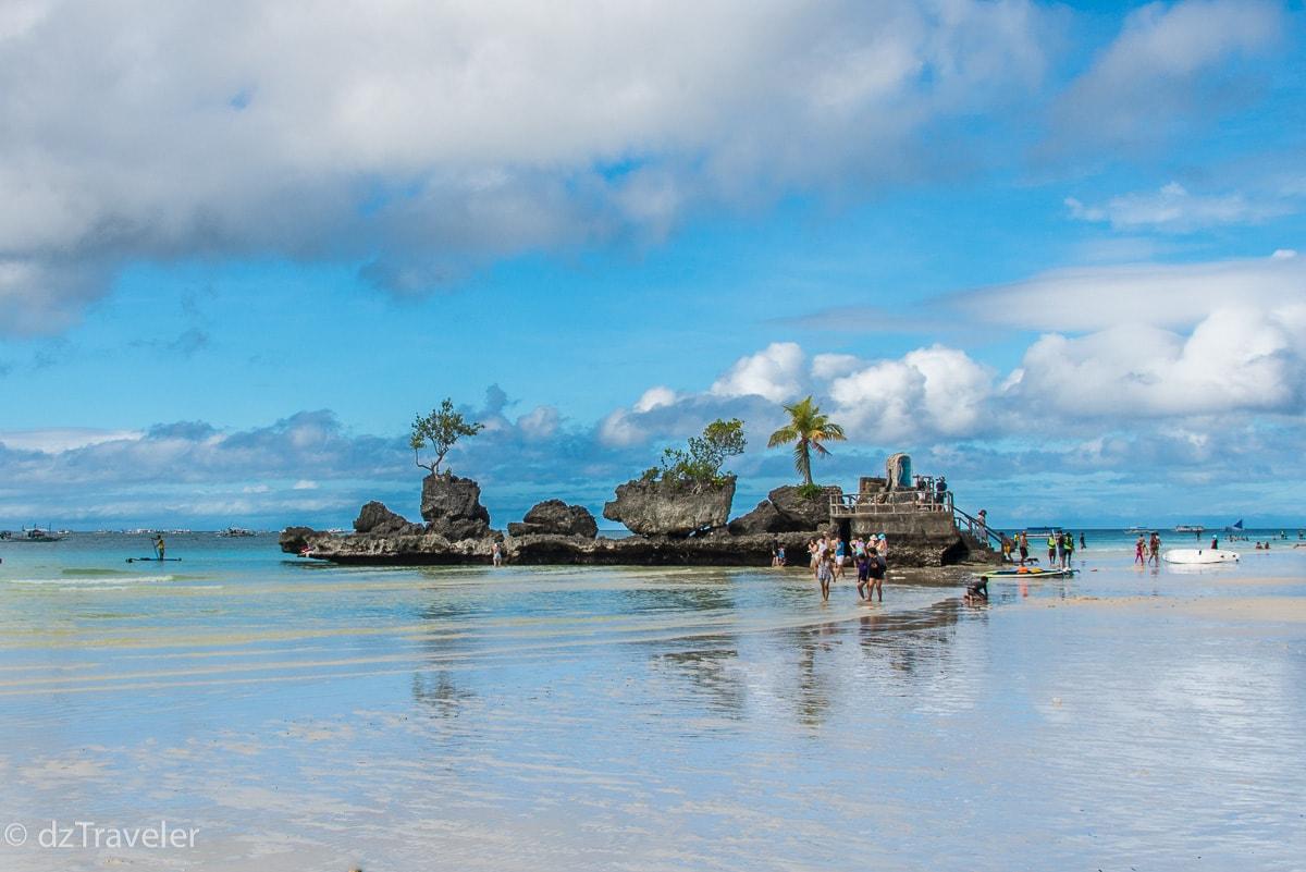 Willy's Rock, Boracay Island, Philippines