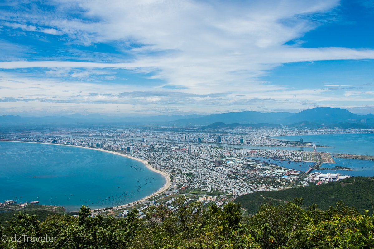 A view of Da Nang, Vietnam