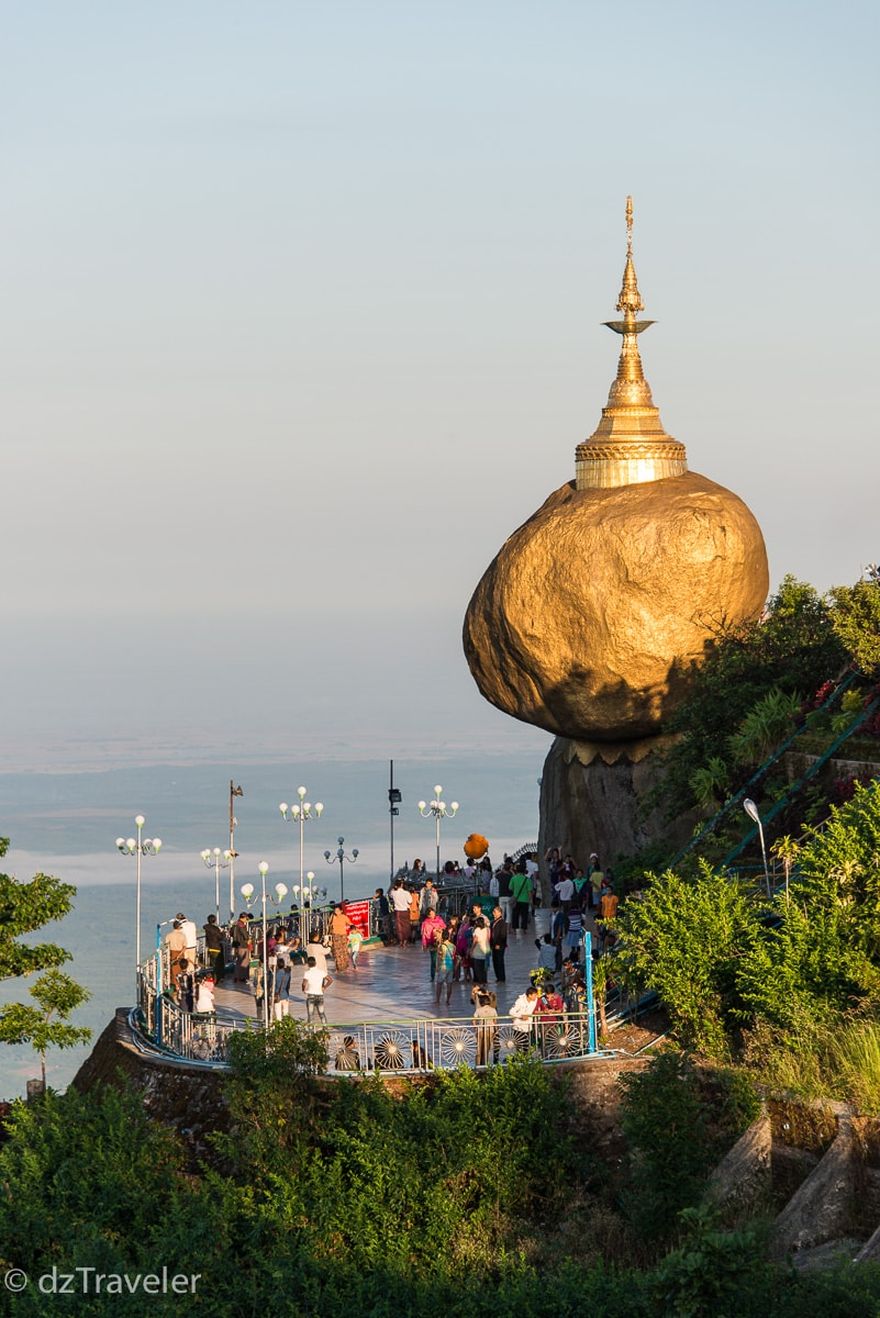 Golden Rock Temple (Kyaiktio or Kyaikhteeyoe Pagoda), Myanmar