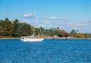 Georgian Bay Islands National Park. Beausoleil Island, Ontario - Canada