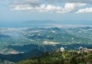 A view of Da Nang from Ba Na Hills