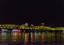 View of Truing Tien Bridge at night, Hue - Vietnam