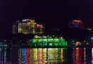 Mong Thanh Hue Hotel from the perfume river
