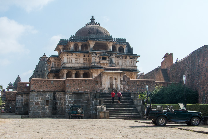 Temple inside the Kumbhalgarh Fort