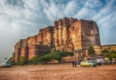 A view of Mehrangarh Fort