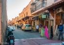 A view of street of Marrakech
