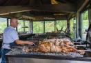 The secret of a good Traditional Jablanica lamb roast in Bosnia