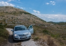The car I was driving from Sarajevo to Mostar