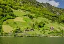 Beautiful communities around the lake Lucerne