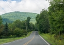A View of Local Roads in Catskill Region, NY