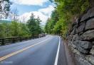 Winding Roads in Catskills Region, NY