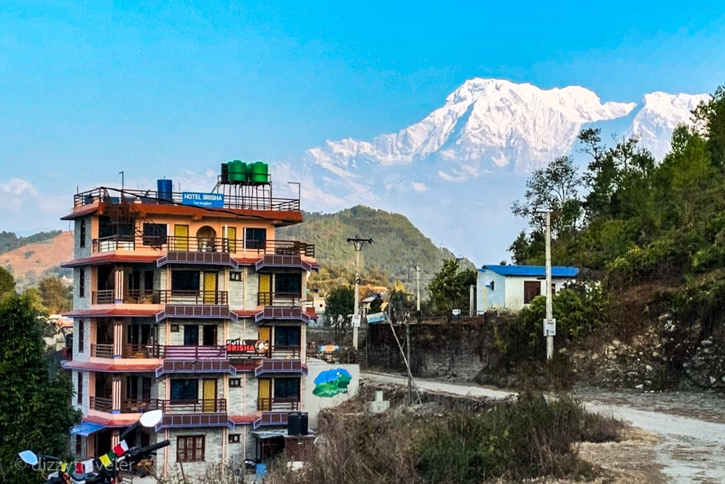 Beautiful village of Sarangkot, Pokhara