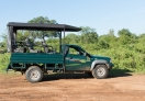 The 4WD Jeep we hired for Udawalawe National Park!