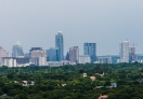 A view of Austin City Skyline from Mount Bonnell
