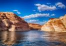 Sunset cruise in Lake Powell, Arizona
