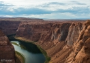 Late afternoon in Horseshoe Bend, Page - Arizona