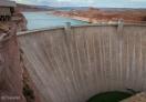Glen Canyon Dam from the bridge
