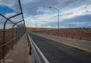A view of Glen Canyon Dam Bridge, Arizona