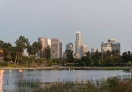 Los Angeles Skyline from Echo Park