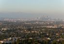 A view of downtown Los Angeles from Baldwin Hills, Los Angeles