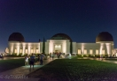 Griffith Observatory at night in Los Angeles