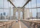 An early morning walk on Brooklyn Bridge