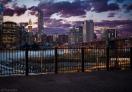 Getting dark in Brooklyn Heights