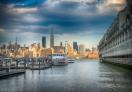 A view of Manhattan from Hoboken, NJ