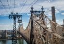 Queensboro Bridge connecting Manhattan and Queens