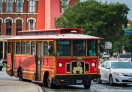 Get on to a Trolly and explore this city !