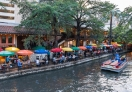 It's so relaxing environment by the San Antonio River and the restaurants at River Walk