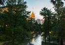 Sunset at the River San Antonio