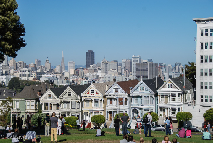 Painted ladies - Victorian and Edwardian houses and buildings painted in three or more colors