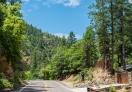 Highway 89a heading towards Flagstaff from Sedona