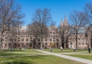 Old Campus buildings in Yale University, New Haven, CT