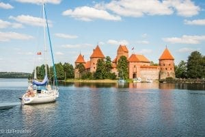 Trakai and the Island Castle, Lithuania