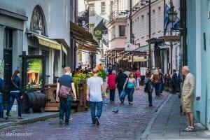 Street View of Tallinn Old Town, Estonia!