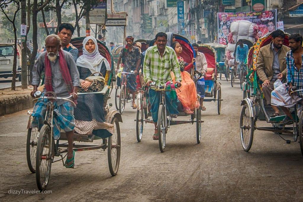 Purana Dhaka (Old Dhaka) Street view