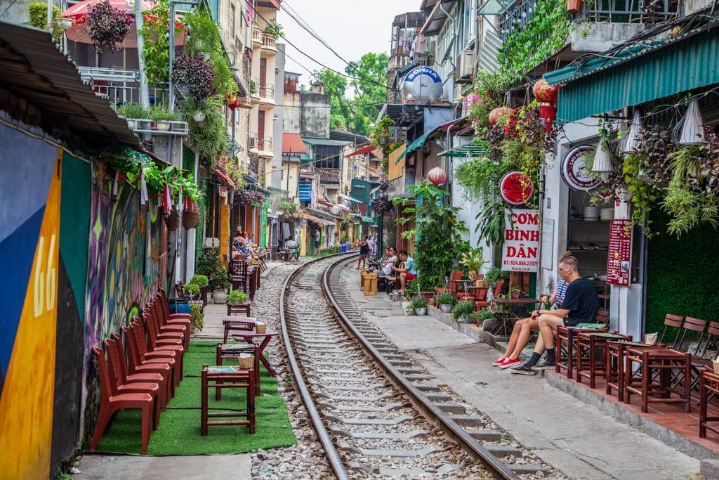 The Old Quarter, The Hanoi Street Train Tracks