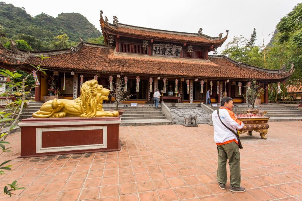 The Parfume Pagoda in Hanoi