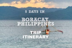 5 Days in Boracay, Philippines – Trip Itinerary