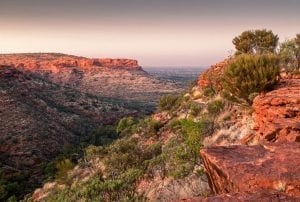 Kings Canyon in the Northern Territories of Australia