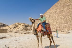 Trip to Cairo, Egypt, and Pyramids of Giza