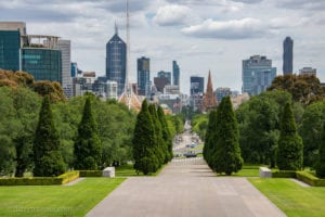 The Shrine of Remembrance, Melbourne – Australia
